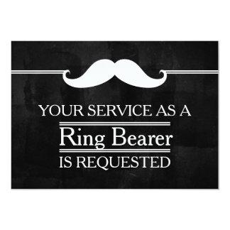 Cartão Quadro-negro seu serviço como um pedido do