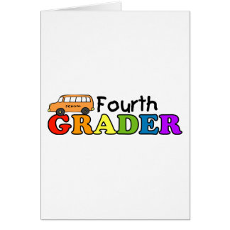 Cartão Quarto graduador