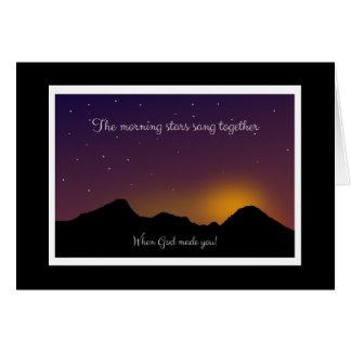 Cartão que incentiva o bom amor-próprio