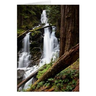 Cartão Quedas da guarda florestal
