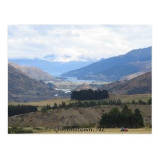 Cartão Queenstown Nova Zelândia