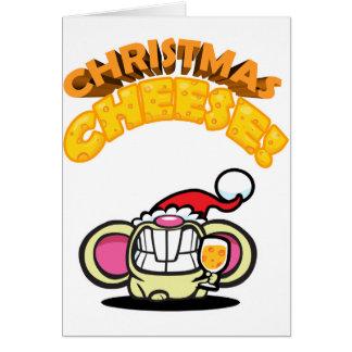 Cartão QUEIJO do Natal!