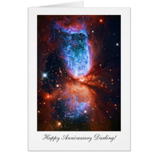 Cartão Querido feliz de Anniversay - Cygnus, a cisne
