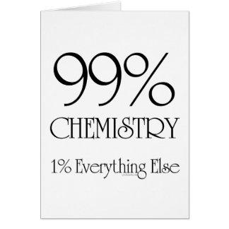 Cartão Química de 99%
