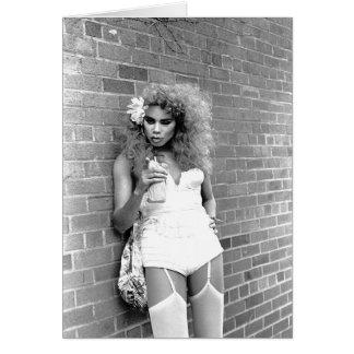 Cartão Rainha de arrasto NYC. 1989