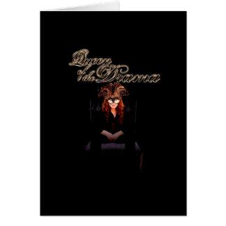 Cartão Rainha do drama