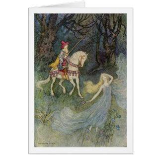 Cartão Rainha do duende,