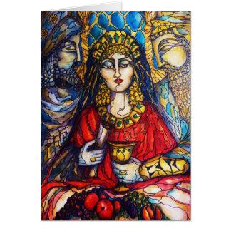 Cartão Rainha Esther