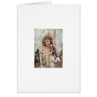 Cartão Rainha feericamente