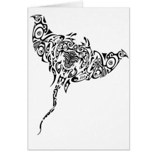 Cartão Raio maori