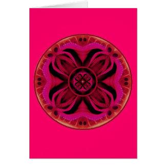 Cartão Raizes terrestres Chakra