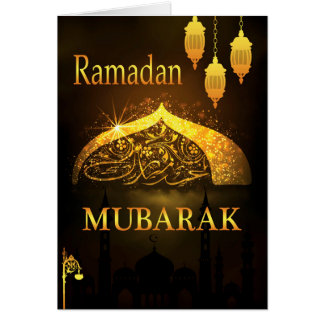 Cartão Ramanan Mubarak