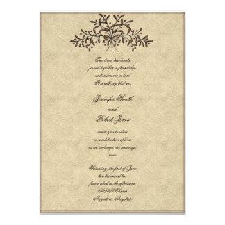 Cartão Ramos com as azeitonas vermelhas que Wedding o