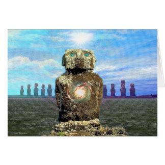 Cartão Rapa Nui