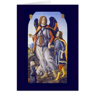 Cartão Raphael do santo de San Rafael