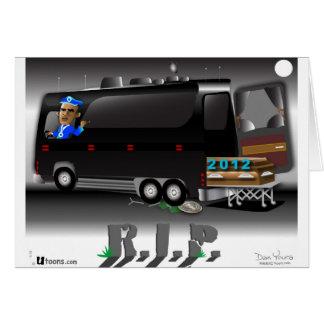 Cartão RASGO do ônibus de Obama