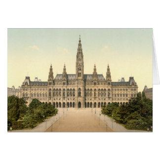 Cartão Rathaus, Viena, Áustria