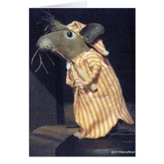 Cartão Rato de Timothy
