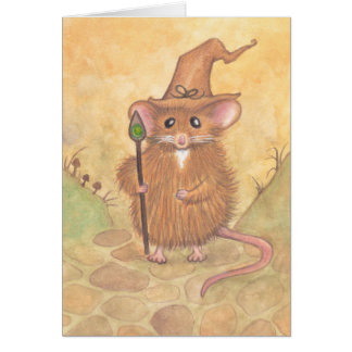 Cartão Rato do feiticeiro