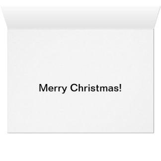 Cartão Rato do Natal com bastão de doces