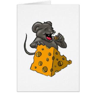 Cartão Rato do queijo