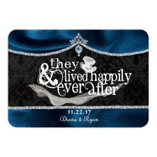 Cartão real do conto de fadas Thankyou