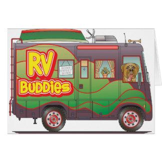 Cartão Reboque de campista rv dos amigos do rv