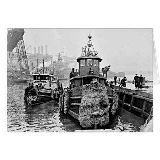 Cartão Reboquees na Arsenal de Marinha de Brooklyn