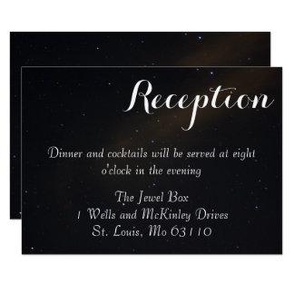 Cartão Recepção celestial dos sonhos
