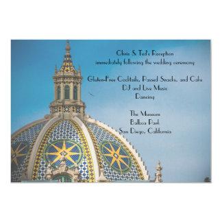 Cartão Recepção da abóbada 3 do mosaico de San Diego do