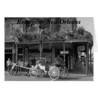 Cartão Recorde Nova Orleães