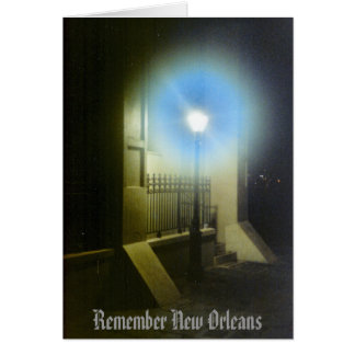 Cartão Recorde Nova Orleães Lamposts
