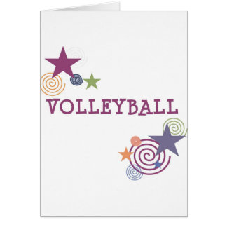 Cartão Redemoinho do voleibol