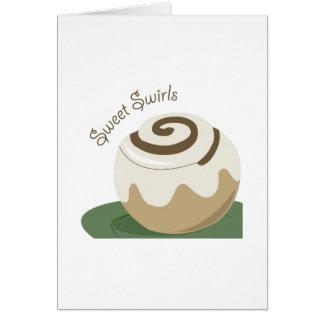 Cartão Redemoinhos doces