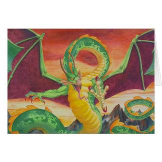 Cartão Redesign do dragão de Shivan