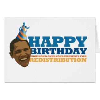 Cartão Redistribution* feliz