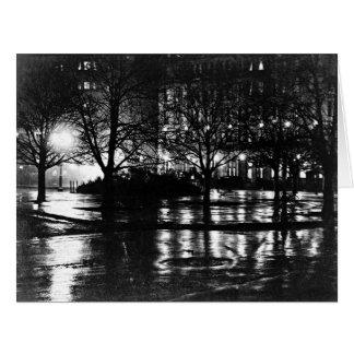 Cartão Reflexões 1897 da Nova Iorque
