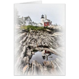 Cartão Reflexões de Pemaquid