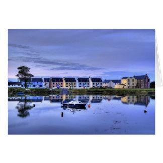 Cartão Reflexões do Boatyard