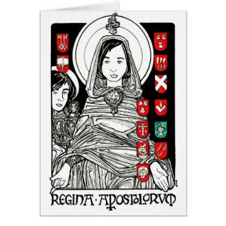 Cartão Regina Apostolorum Notecard