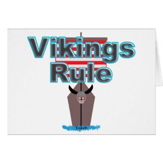 Cartão Regra de Viquingues