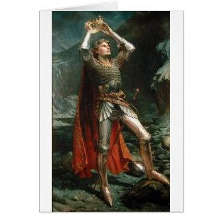 Cartão Rei Arthur