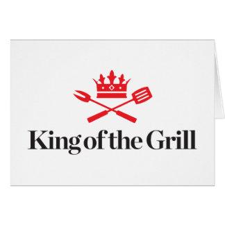 Cartão Rei da grade