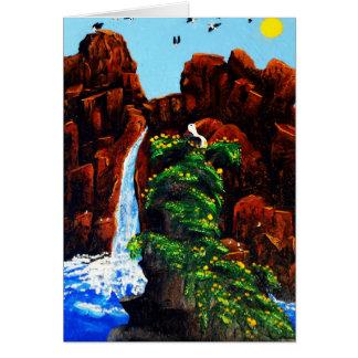 Cartão Rei da rocha