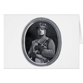 Cartão Rei Henry V de Inglaterra