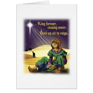 Cartão Rei Para sempre