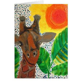 Cartão Rei silencioso do bushveld