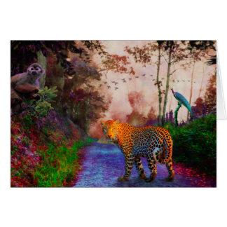 Cartão Reino animal 1