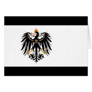 Cartão Reino Preussen estandarte de nacional