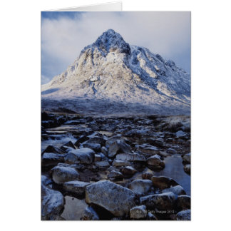 Cartão Reino Unido, Scotland, montanhas, ANSR de